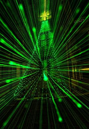 Explosion of lights
