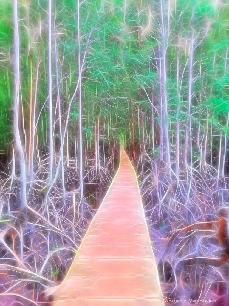 Thailand walkway