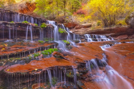Photography Contest Grand Prize Winner - December 2016: Glory Falls