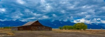 Moulton Barn and Tetons