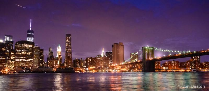 Brooklyn Bridge Starbursts