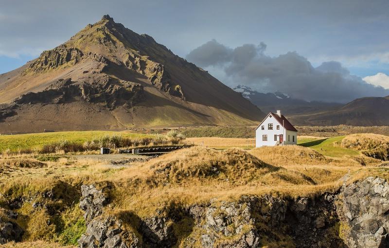 Isolated Homestead