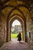 Medieval Arch, Llanthony Priory