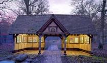 Queenswood Arboretum at Sunset