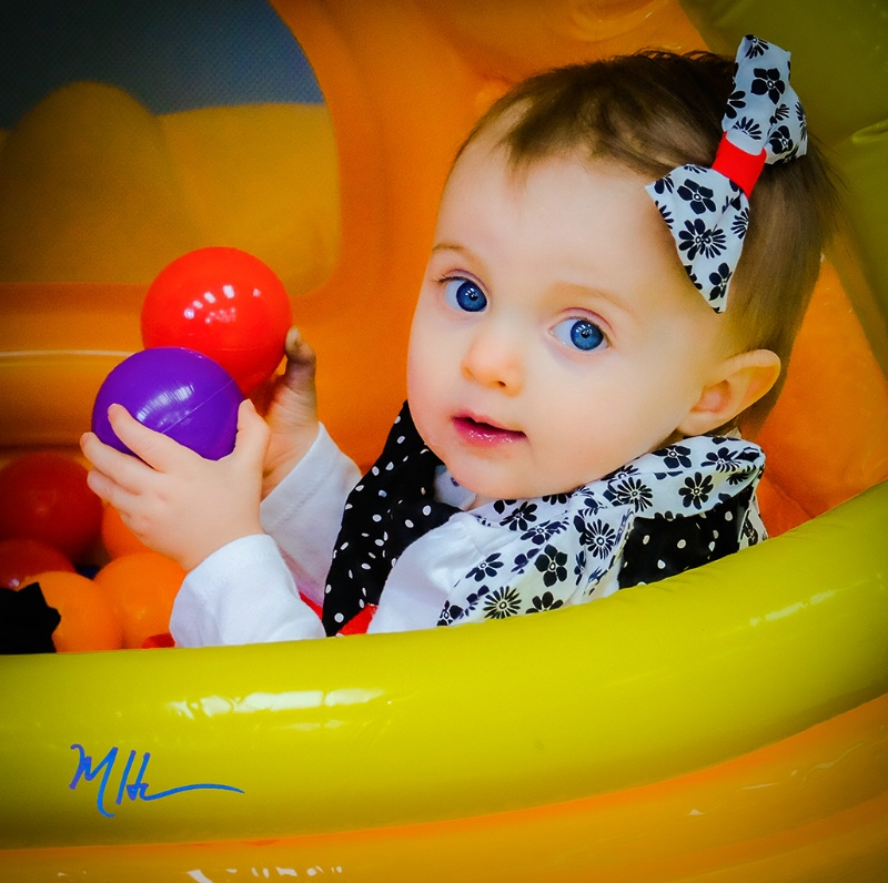 Amelia, 1 Year Old - ID: 15293848 © Martin L. Heavner