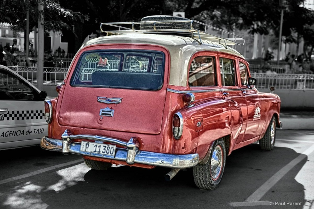 The Old Cuban Car - ID: 15296000 © paul parent