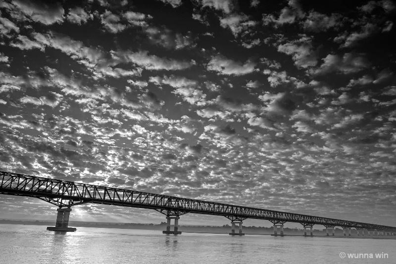 longest bridge in myanmar
