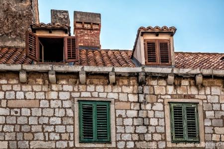 Dubrovnik Attic Windows