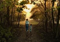 Sunset Walk With Grandmom