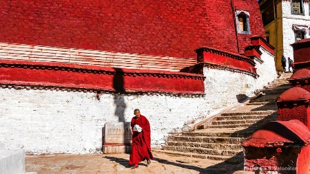 Another day at the Ganden Monastery, Tibet