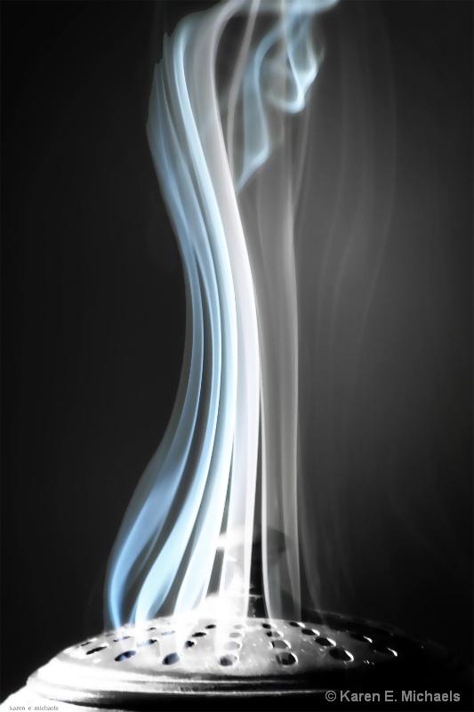 Blue Smoke - ID: 15299867 © Karen E. Michaels