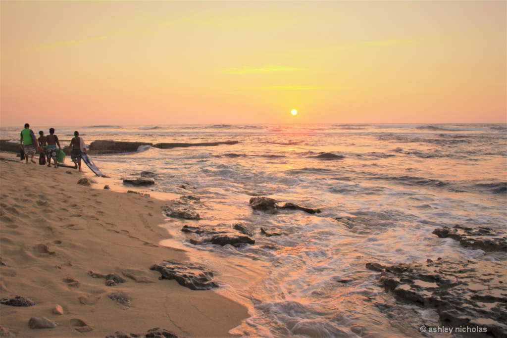Leaving the surf - ID: 15306764 © ashley nicholas