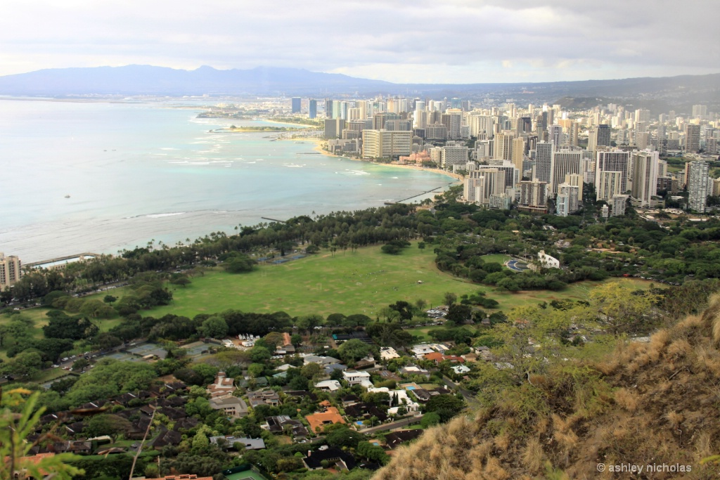 Honolulu from Diamondhead - ID: 15306768 © ashley nicholas