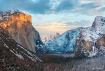 Snow in Yosemite ...