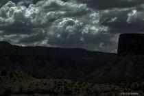 Old Western Moonlit Night