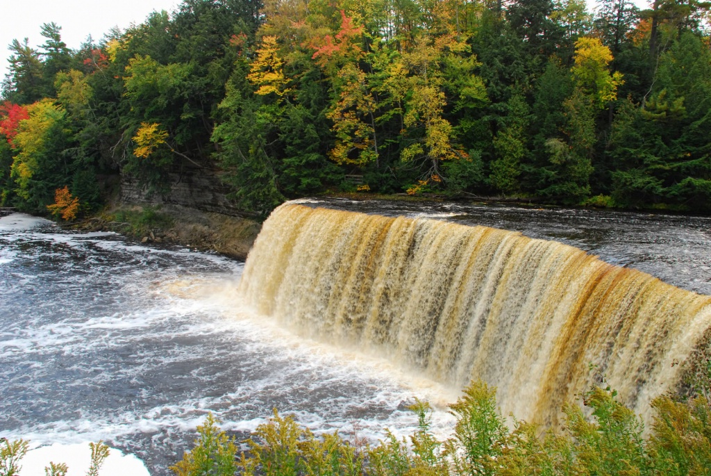 Upper Tahquamenon Falls in Autumn