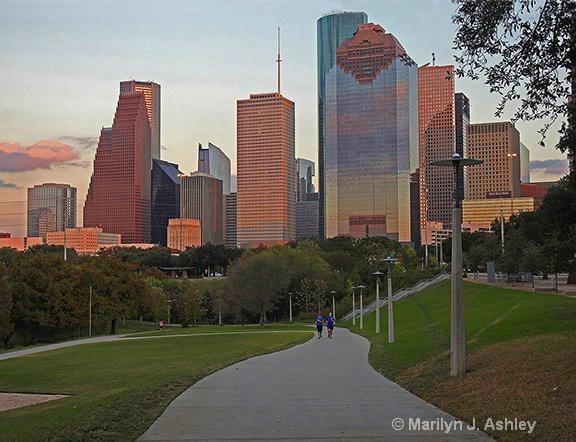 Houston Skyline  - ID: 15311435 © Marilyn J. Ashley