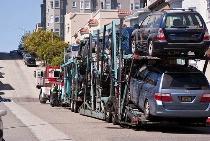 Automobile car transportation services at APTOS