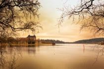 Castle, Lake and Goldeneye