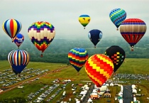 Balloon Race - Competitor's Eye View