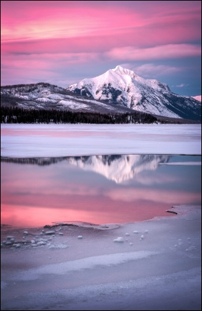 Photography Contest Grand Prize Winner - March 2017: Lake McDonald Reflection