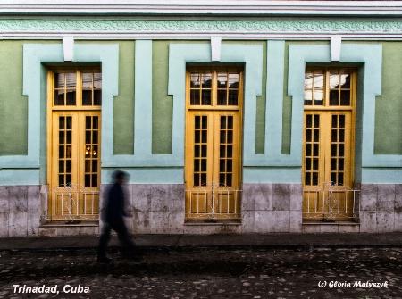 Early riser.Photo before dawn.Trinadad, Cuba
