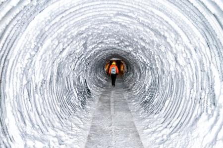 Glacier Tunnel 2333