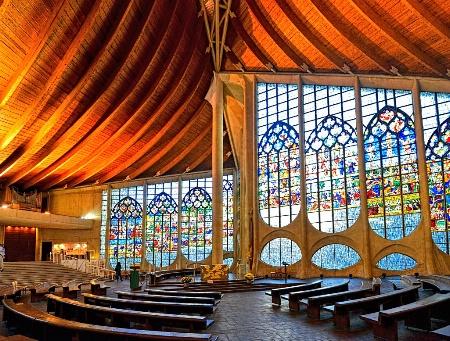 Church of Saint Joan of Arc - Rouen, France
