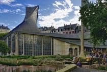 Exterior Church of Saint Joan of Arc - Rouen