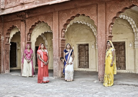 Four Beautiful Ladies