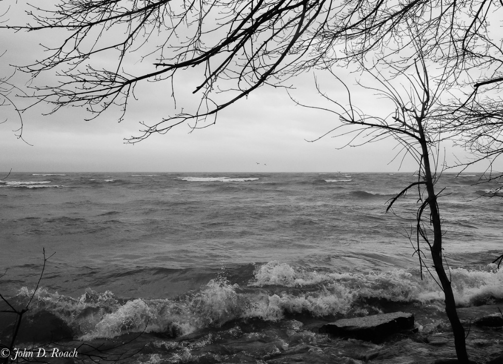 MIlwaukee Lakefront on Stormy Day-5
