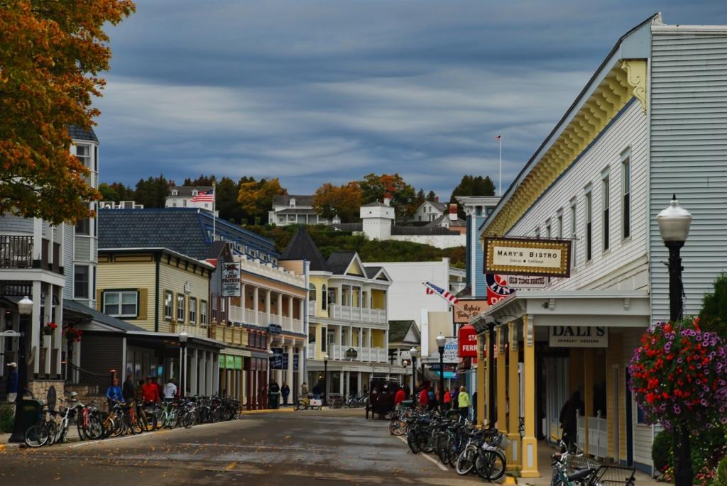 Mackinac Main Street