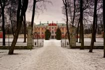 Snowy Path To The Kadriorg Palace