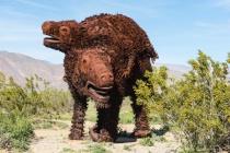 Metal Sculpture at Anza Borrego State Park