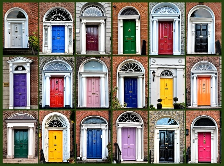 Distinctive Dublin Doors