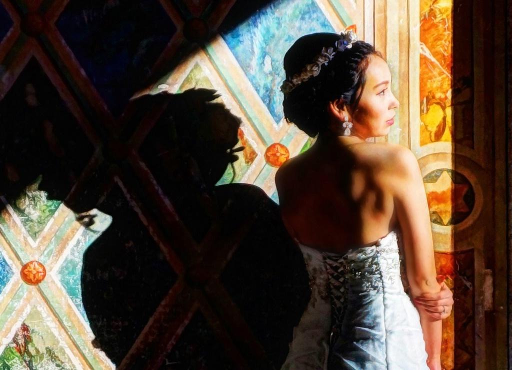 Bride with Shadows
