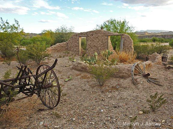 Abandoned Homestead, Lajitas - ID: 15345618 © Marilyn J. Ashley
