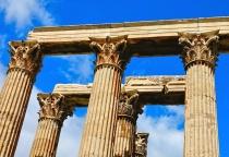 Classic Corinthian Column Capitals