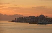 Sunrise On Corfu, Greece