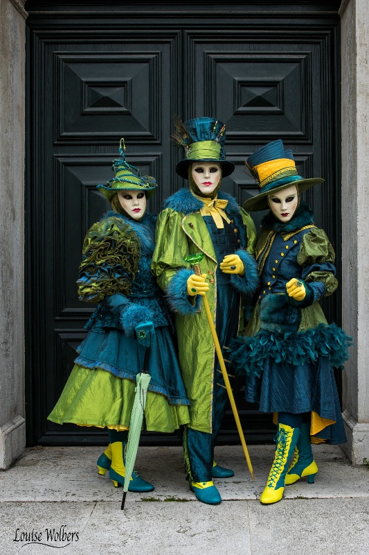 Emerald Trio - ID: 15348853 © Louise Wolbers
