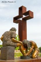 Jesus washing Peter