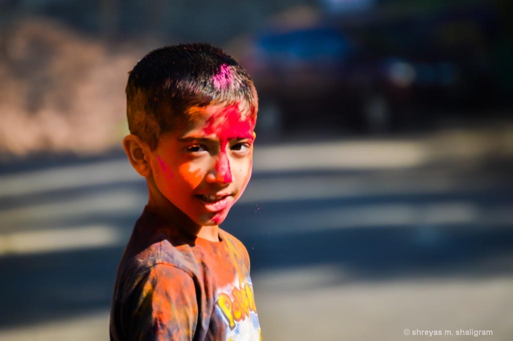 The colours of joy.!