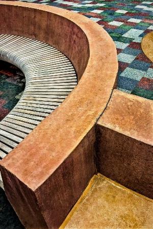 Curves & Colors in Concrete