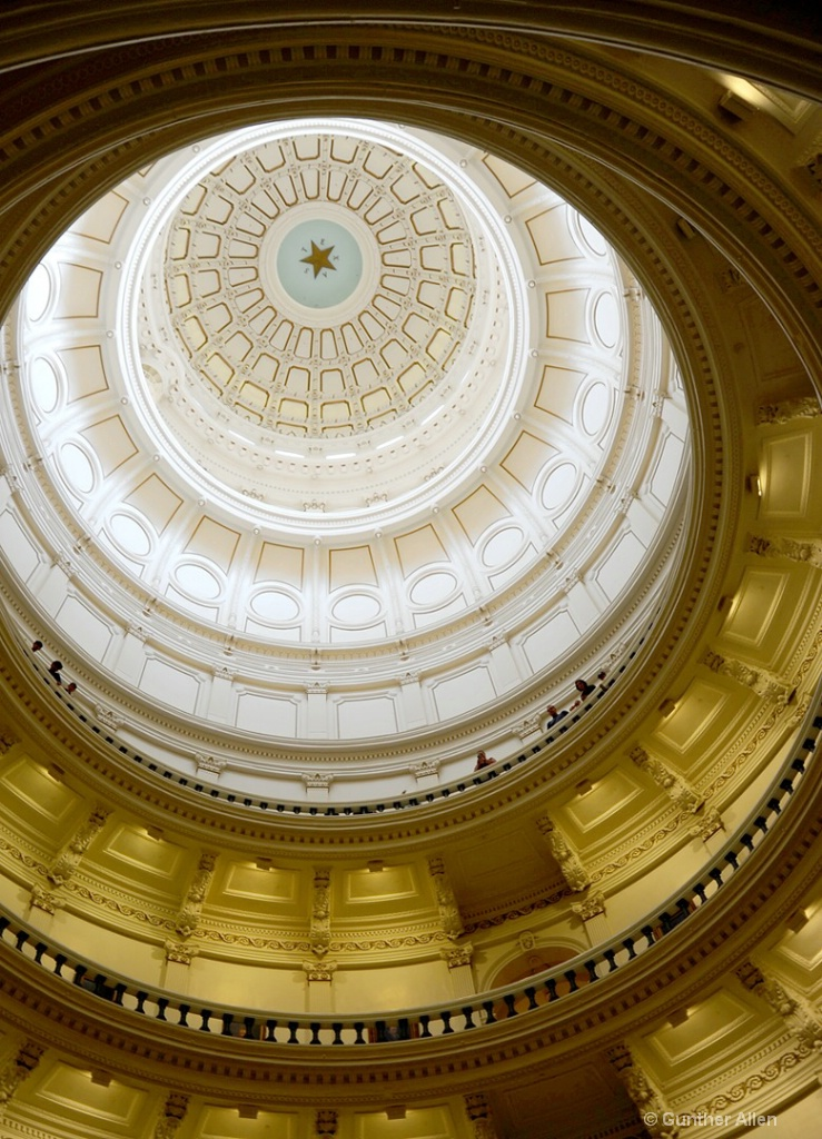 Texas State Capitol Ceiling