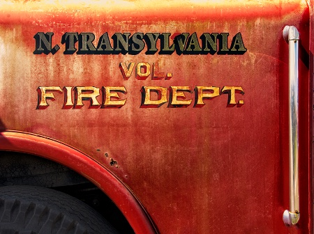 N. Transylvania Antique Fire Truck
