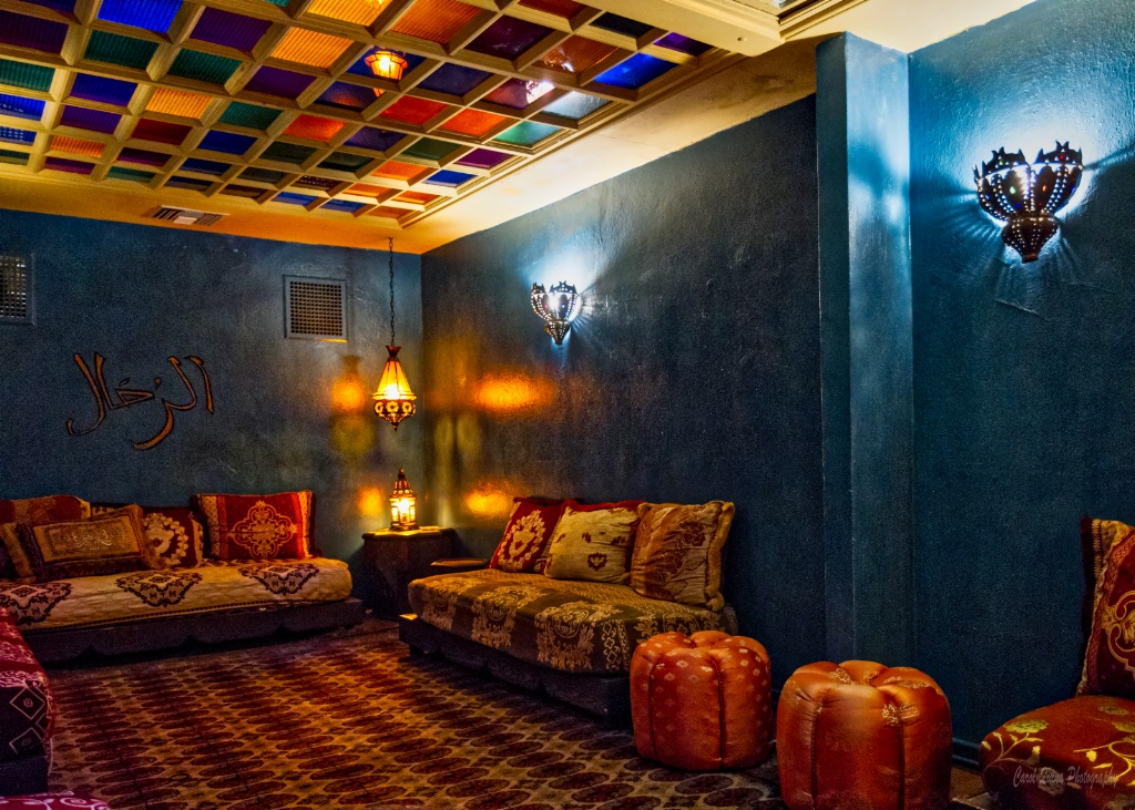 Lounge at the Hotel Figueroa