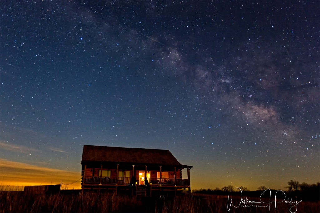 Milky Way over the lodge 698A8309  - ID: 15360611 © William J. Pohley