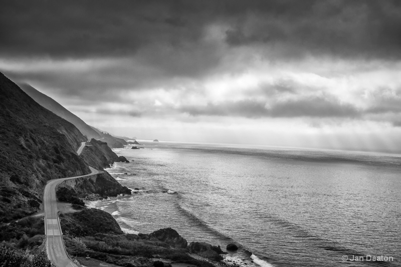 Highway 101-Big Sur
