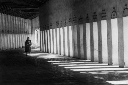 Monk in Bagan, Myanmar
