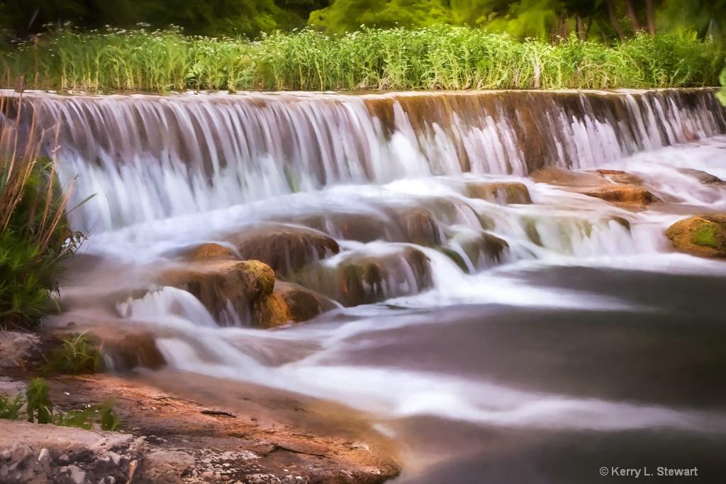 South Concho River No. 3 - ID: 15362347 © Kerry L. Stewart